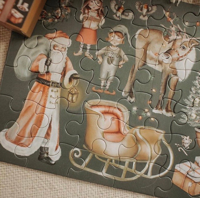 christmas take me with you puzzle