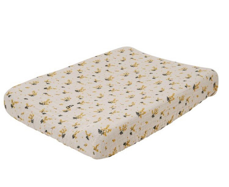 Mimosa Muslin Changing Mat Cover