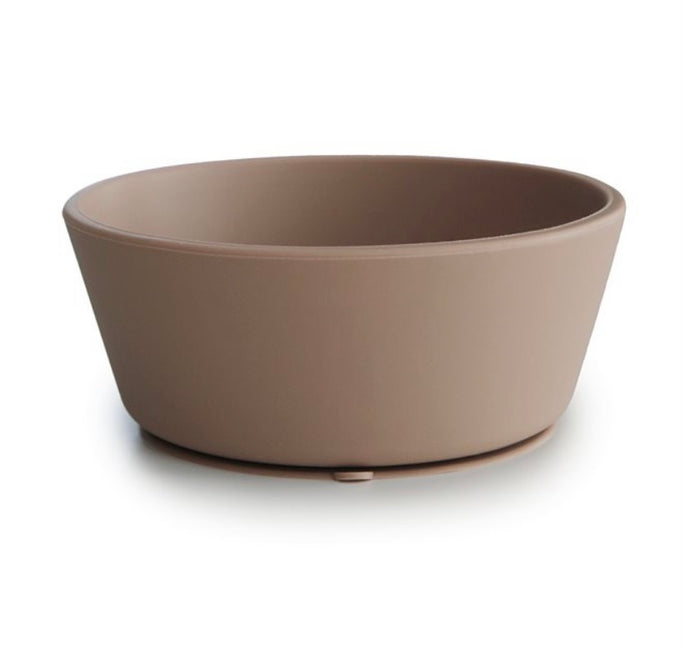 "silicone suction bowl ""natural"""