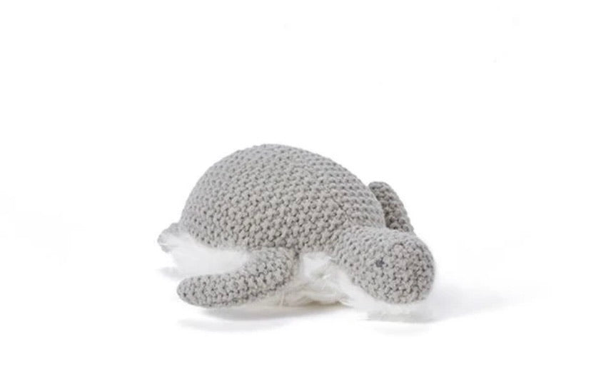 "Toby turtle rattle ""grey"""