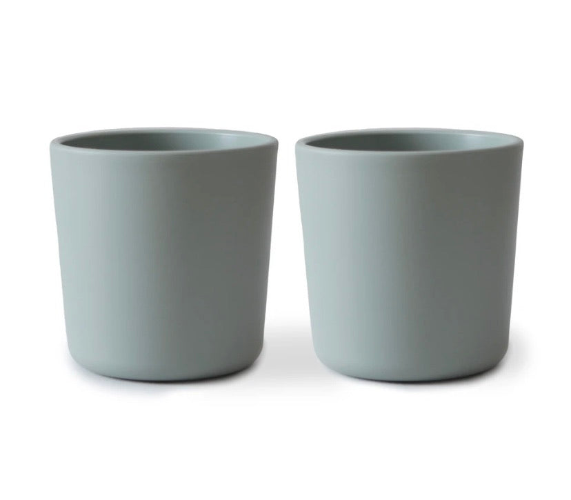 dinnerware cup/set of two (sage)