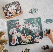 Load image into Gallery viewer, christmas take me with you puzzle
