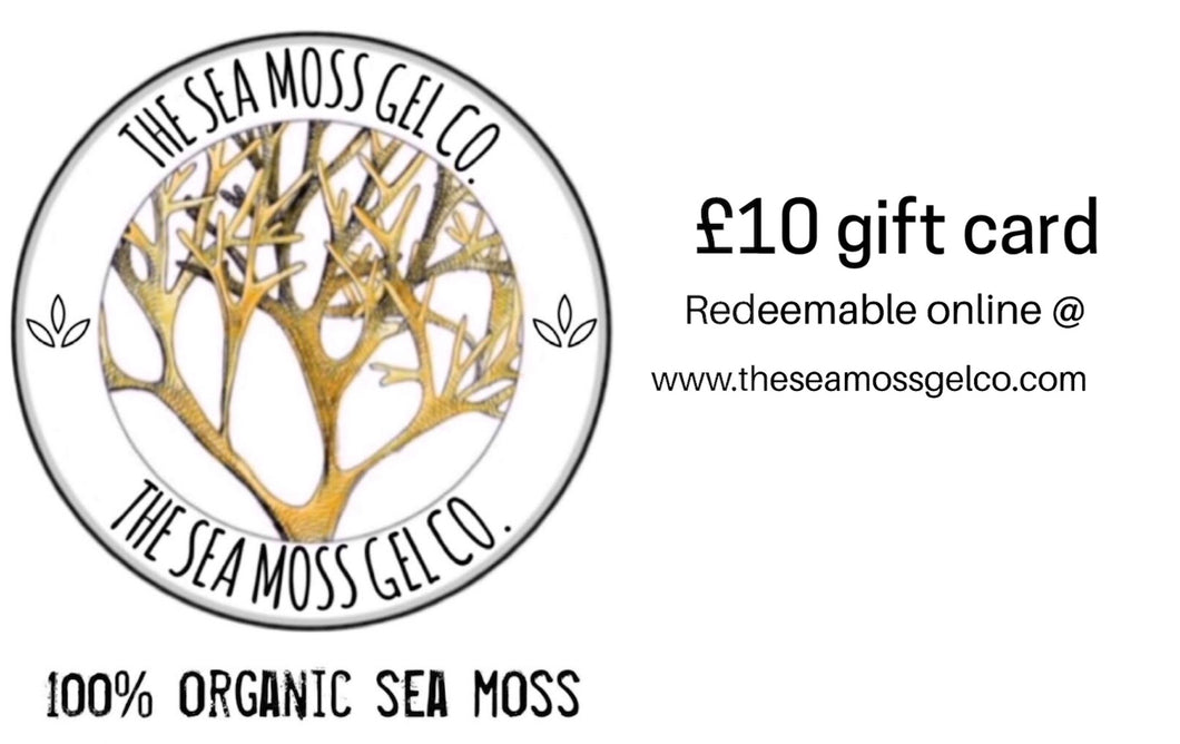 The Sea Moss Gel Co Gift Card - The Sea Moss Gel Co