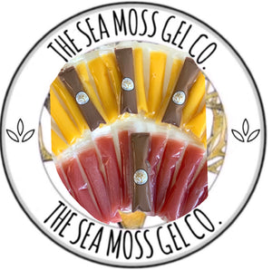 Sea Moss Ice Pops (8) - The Sea Moss Gel Co