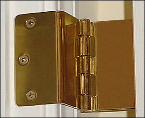 Swing Away Expandable Offset Door Hinges (Select Options) 2