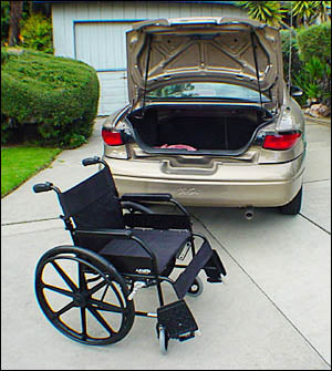 Standard Folding Wheelchairs 1