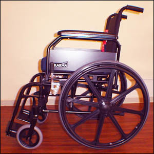 Standard Folding Wheelchairs 4