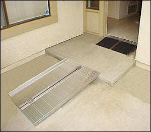 Suitcase Ramp and Threshold Ramp Combination