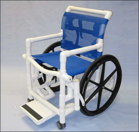 PVC Pool Access Chair 1