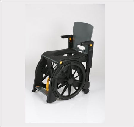 Wheelable Commode Shower Chair 1