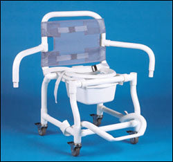 Rolling Shower Commode Chair 3