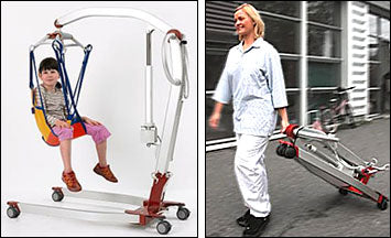 Portable Patient Lift Light Weight Electric Heavy Duty