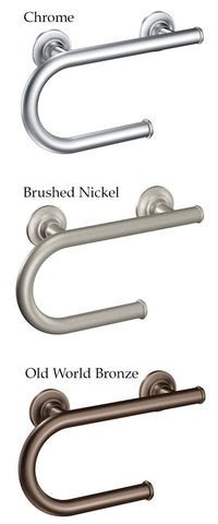 Moen Grab Bar With Toilet Paper Holder 2