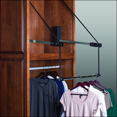 Motorized Closet Wardrobe Rack 3