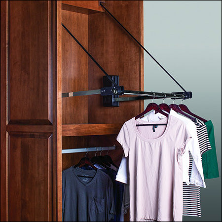 Motorized Closet Wardrobe Rack 2
