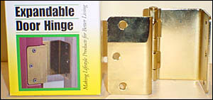 Swing Away Expandable Offset Door Hinges (Select Options) 1