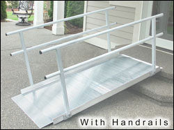 Pathway Ramps (2-feet to 10-feet) For Wheelchairs 4x10