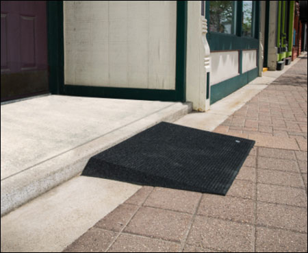 Transitions Angled Entry Mat – EZ Access Threshold Ramp 2