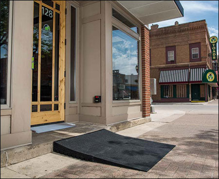 Transitions Modular Entry Mat – EZ Access Portable Threshold Ramp 2