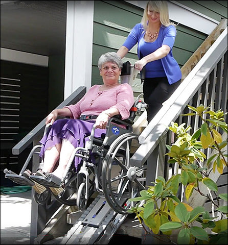Stair Trac Wheelchair Lift 1