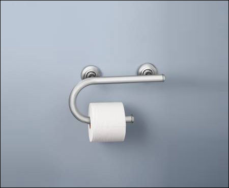 Moen Grab Bar With Toilet Paper Holder 1