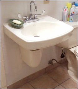Wall-Hung Accessible Sink