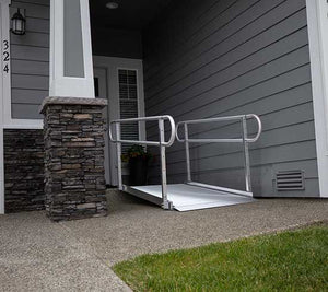 Modular Ramp with Handrails Rentals in Southern California