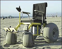 Beach Wheelchairs (Select Options)
