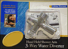 Load image into Gallery viewer, 3-Way Shower Water Diverter (Select Options)