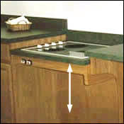 Height Adjustable Cook Top