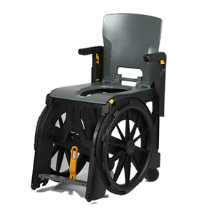 Wheelable Commode Shower Chair