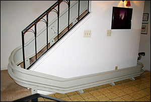 Inside Curved Stairlifts