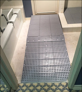 Scratchless Raised Bathroom Ramps - Multiple Sizes