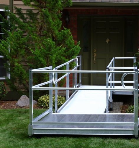 Modular Platform (Landings) with Handrails Rentals in Southern California