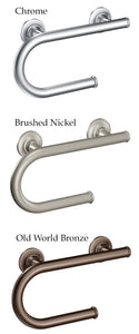 Moen Grab Bar With Toilet Paper Holder