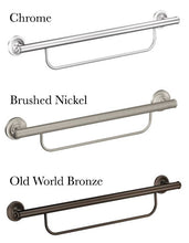 Load image into Gallery viewer, Moen Grab Bar With Towel Bar