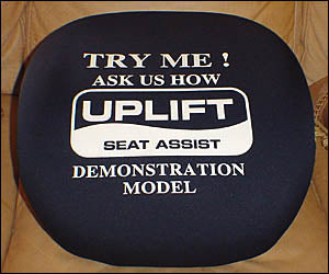 Portable Uplift Seat Assist