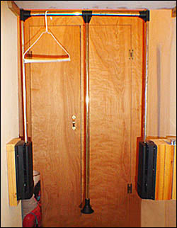 Hydraulic Pull Down Closet Rack