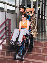 Load image into Gallery viewer, Stair Trac Wheelchair Lift