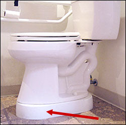 Toilevator ADA Raised Toilet Spacer