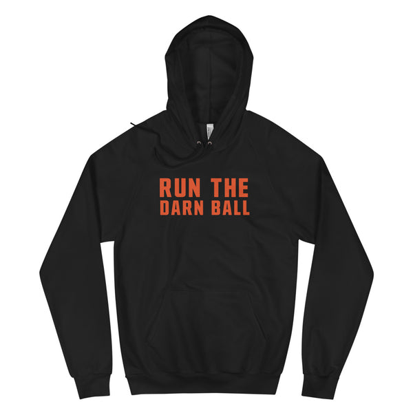 Run The Darn Ball - Dad Edition - Unisex Fleece Hoodie
