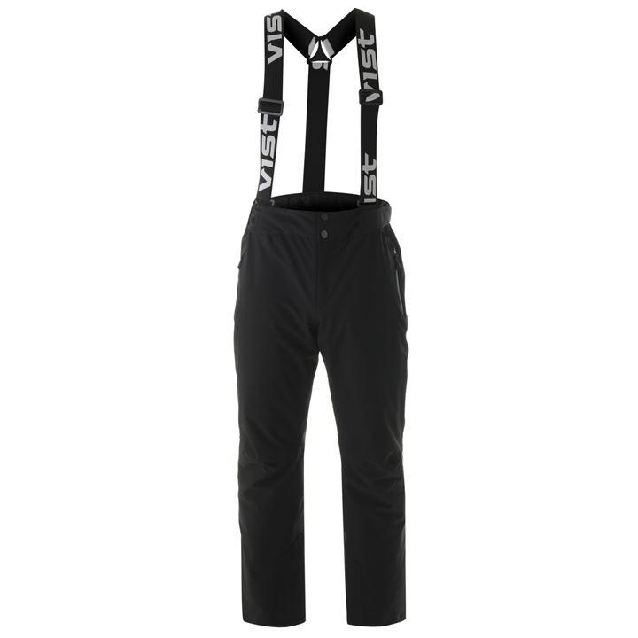 Men's Ski Pants Gran Risa by VIST-Men's Pants-Columbia-Black-S / EU48-SkiGala