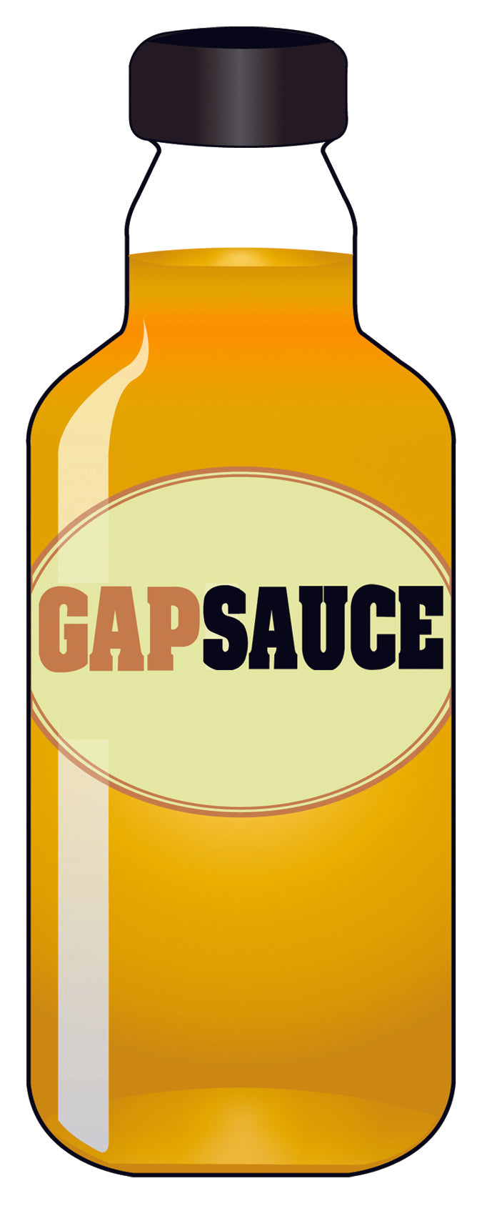Gapsauce Sticker