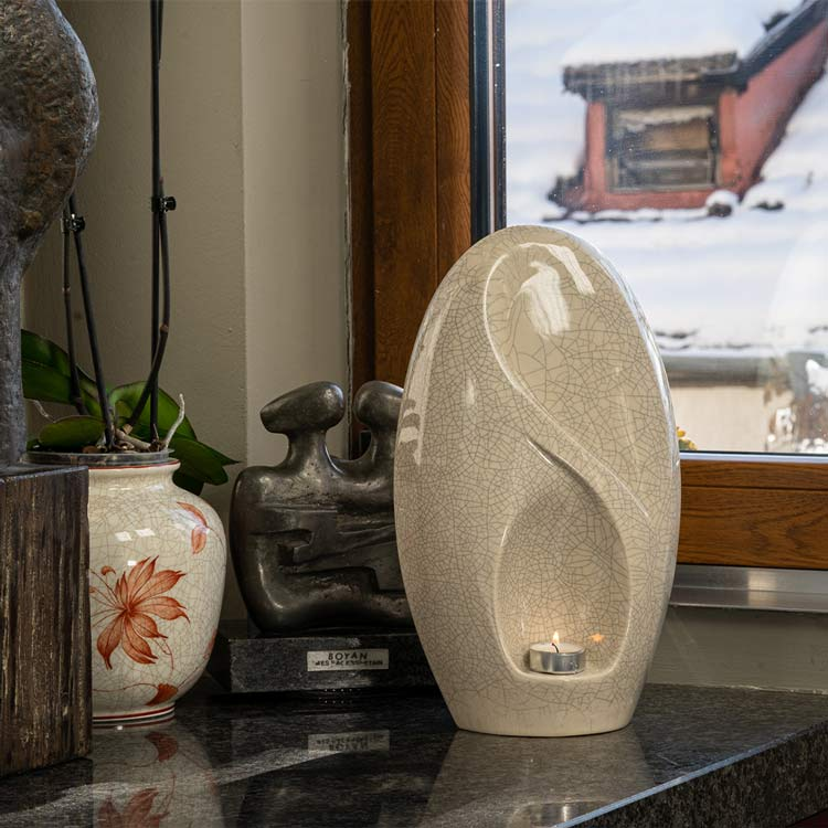 Eternity Cremation Urn for Ashes in Home
