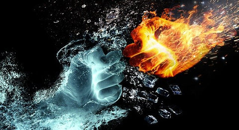 Water and Fire Hands