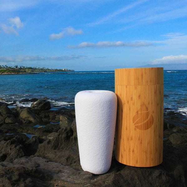 Image of Eco Water™ Biodegradable Urn for Pets Ashes