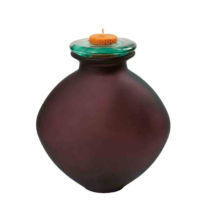 image of the Flamma recycled glass cremation urn