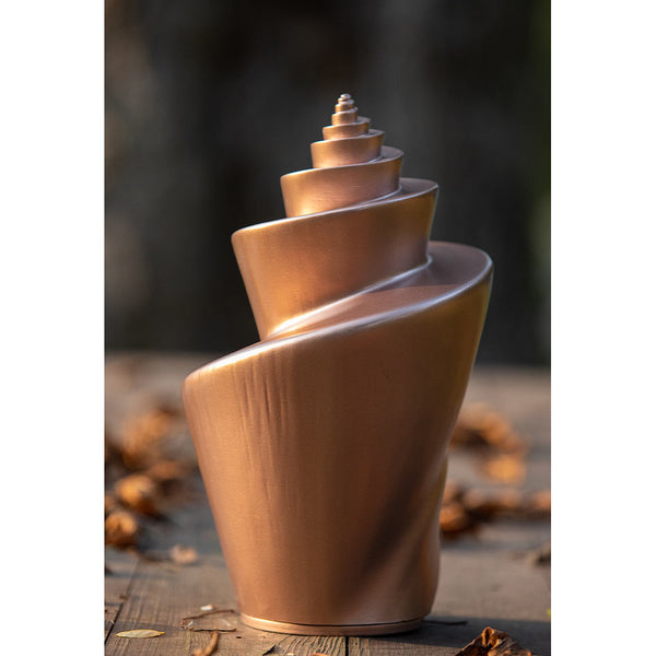 Image of Helix Cremation Urn for Ashes