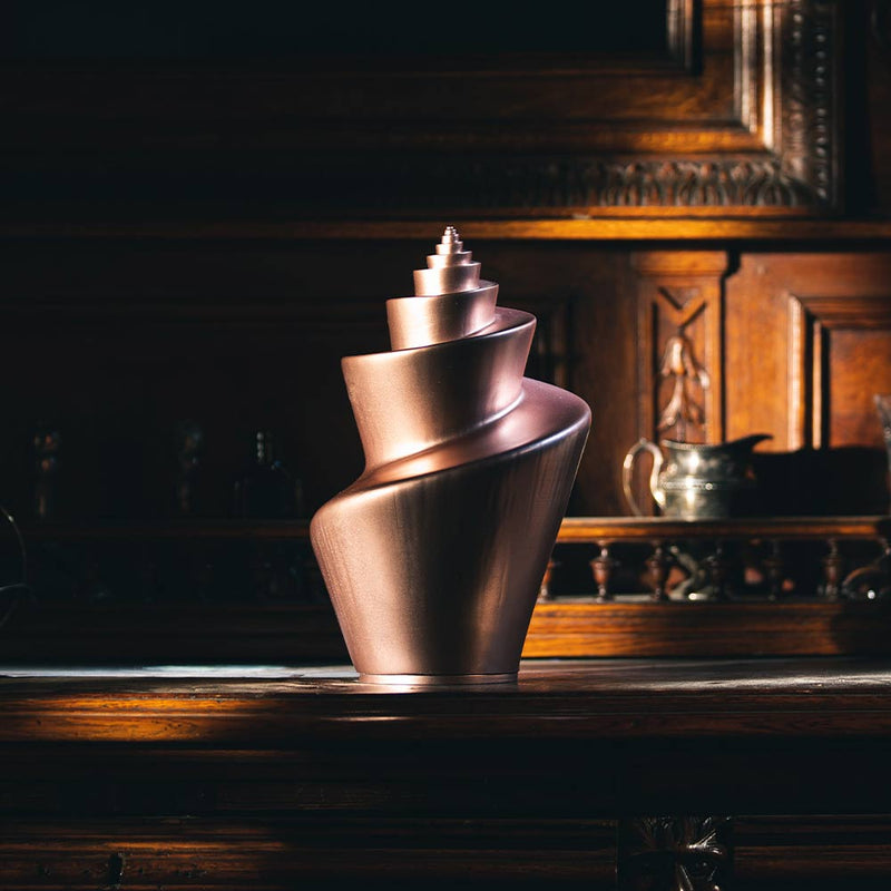 Image of the helix cremation urn