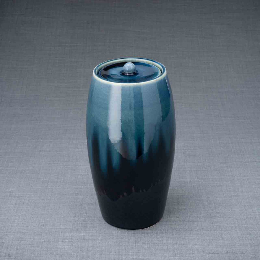 Ceramic Memory Cremation Urn For Ashes